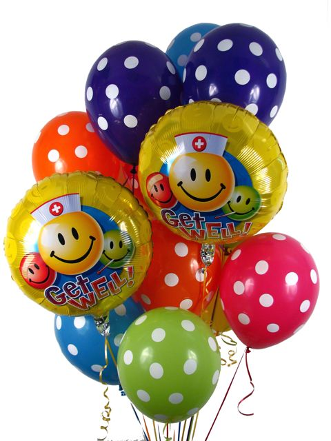 Check out our new Birthday & Get Well Balloon Bouquets available