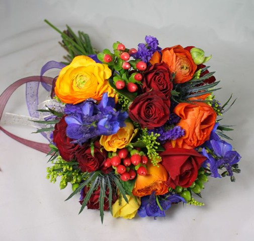 Belvedere prom gallery mixed colored prom bouquet mightylinksfo
