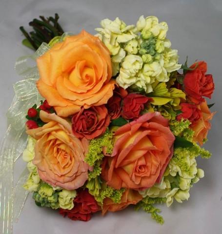 Belvedere prom gallery orange peach yellow flowers for prom mightylinksfo