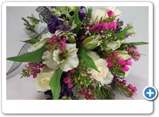 pink-boronia-prom-bouquet