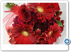 red-hand-tied-prom-bouquet